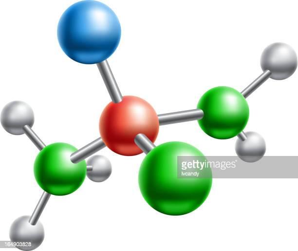 Modelo de estructura molecular