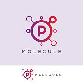 icon template with molecule element