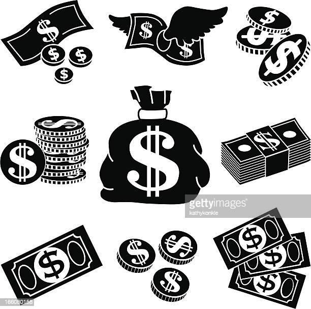 Icone di soldi