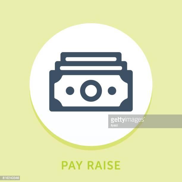 Money Stack Curve Icon