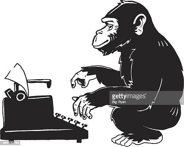 monkey type writer