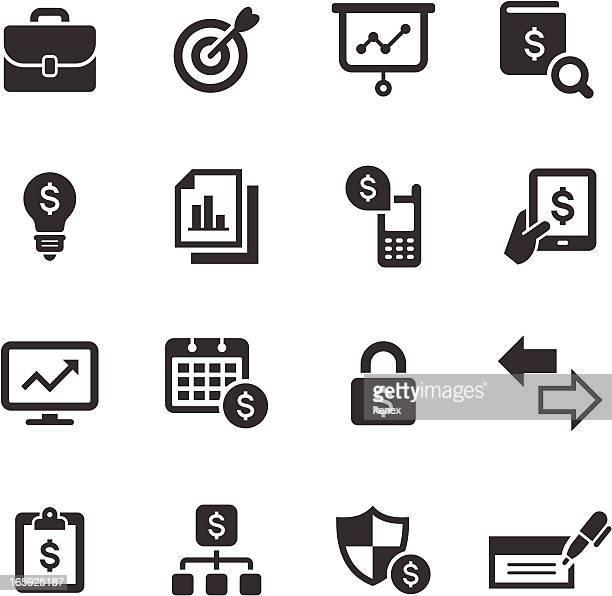 Mono Icons Set   Banking & Finance