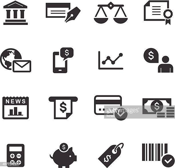 Mono Icons Set | Banking & Finance