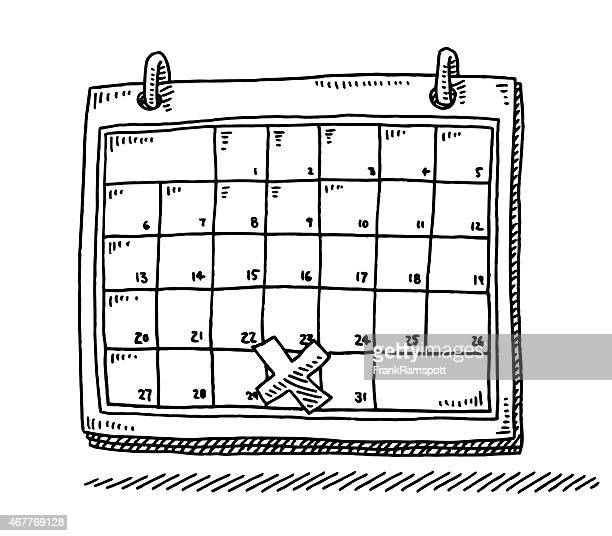Calendar Month Illustration : Calendar stock illustrations and cartoons getty images