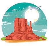 Monument Valley ( Arizona )