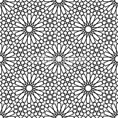 marocain zellige sans coutures clipart vectoriel thinkstock. Black Bedroom Furniture Sets. Home Design Ideas