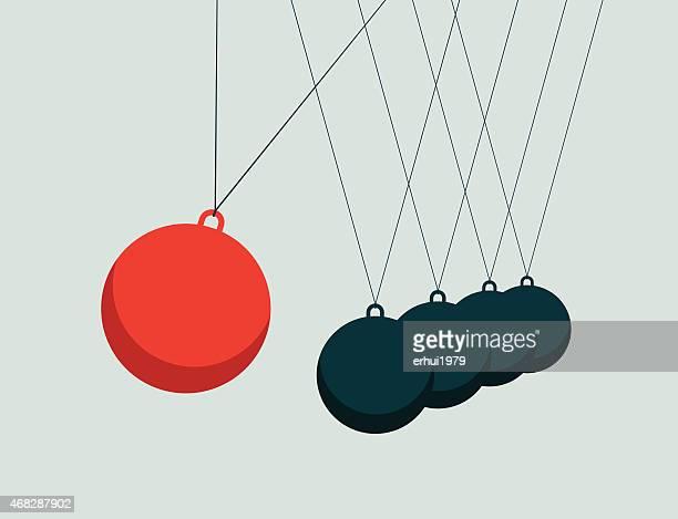 Motion Pendulum-Illustration