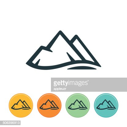 Mountain Vector Art And Graphics | Getty Images