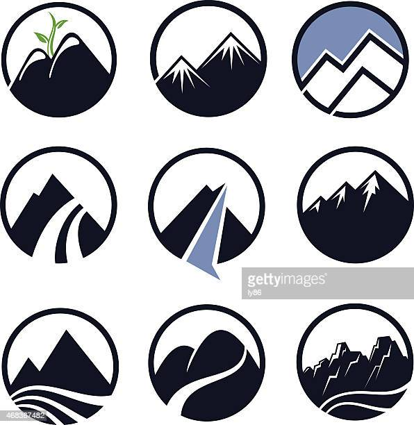 Mountain Peak Stock Illustrations And Cartoons | Getty Images
