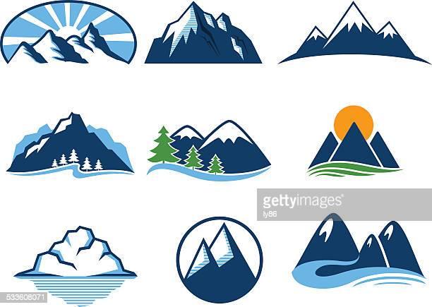 Iconos de montaña