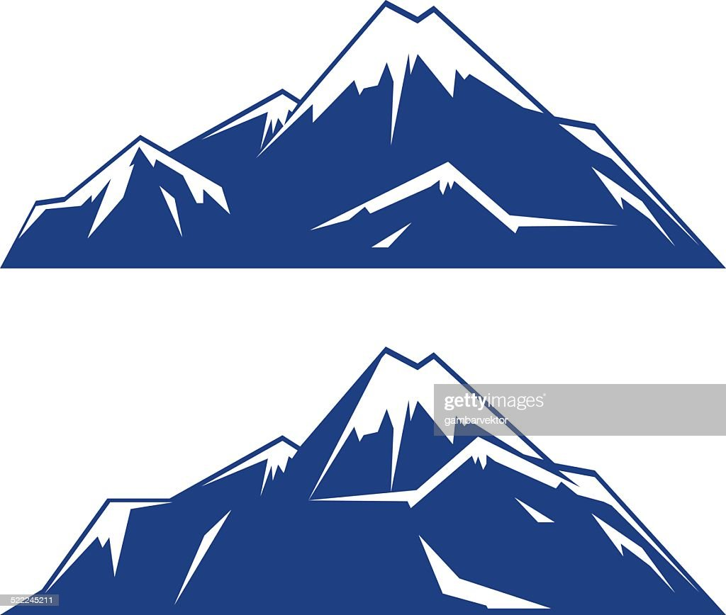 mountain vector logo vector art thinkstock rh thinkstockphotos com mountain vector line art mountain vector image