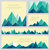 Vector backgrounds for business cards, greetings, prints, web design, invitations and banners.