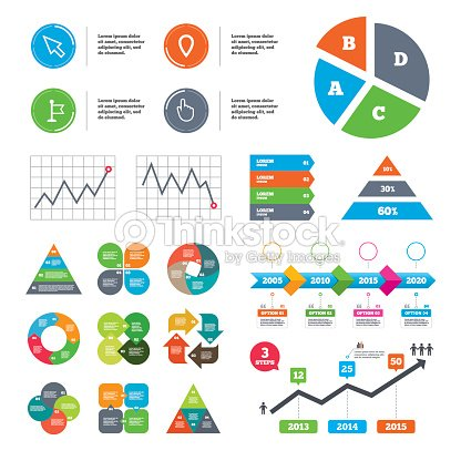 Mouse Cursor Icon Hand Or Flag Pointer Symbols Vector Art Thinkstock