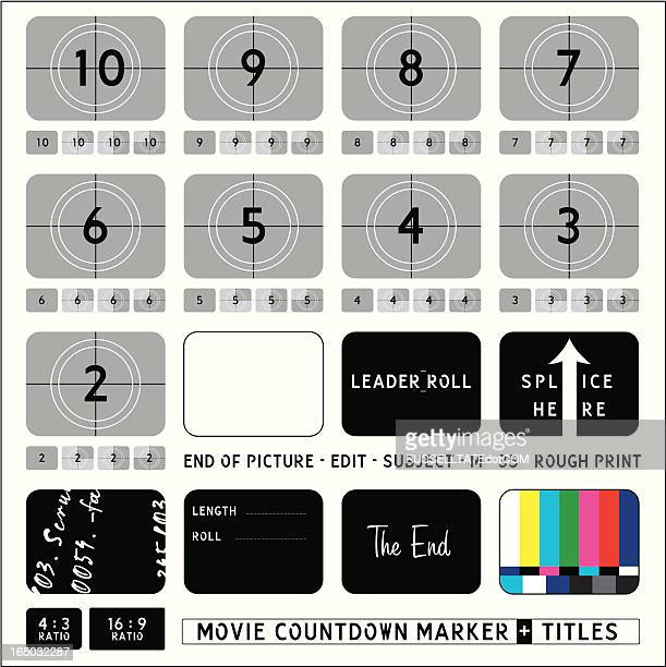 Movie Countdown Markers + Captions