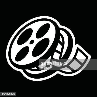 Movie Film Reel Vector Art Thinkstock