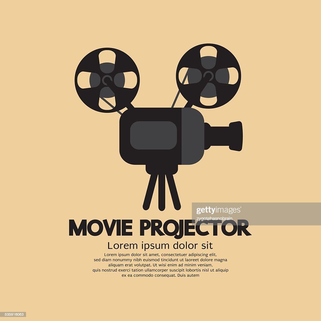 Projetor de Cinema : Arte vetorial