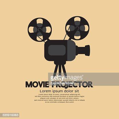 Movie Projector : Vector Art