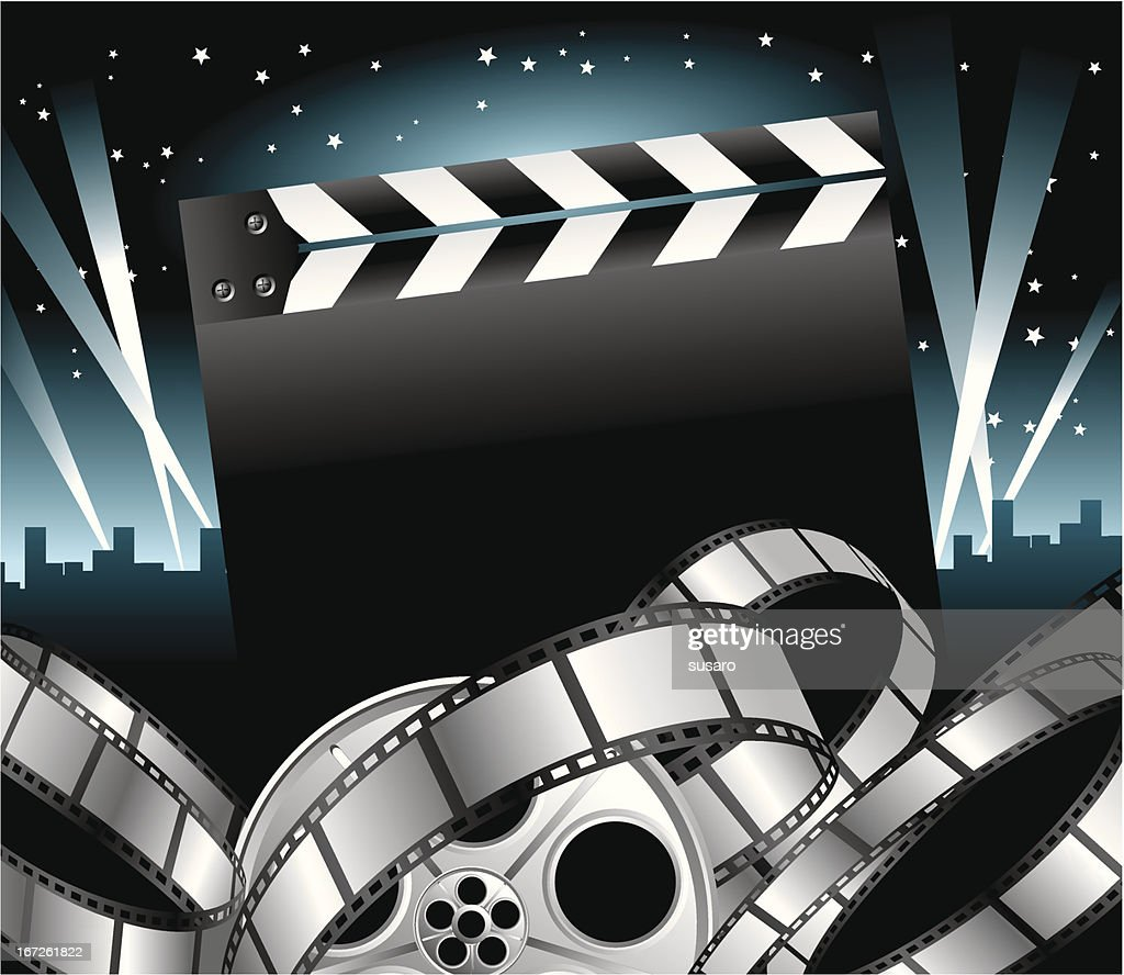 Stelle del cinema : Vector Art