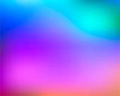 Multicolored rainbow gradient