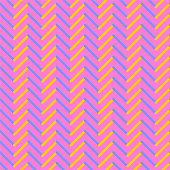 Multicolored zigzag pattern. 3d shape effect. Optical art background.