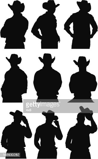 Cowboy vector - photo#23