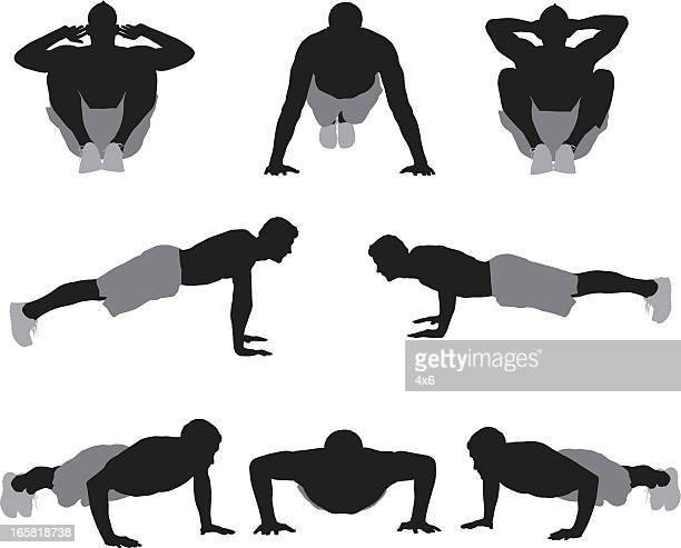 Push Ups Vector Art And Graphics | Getty Images