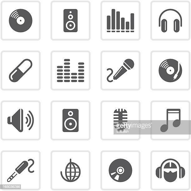 Music & audio icons | prime series