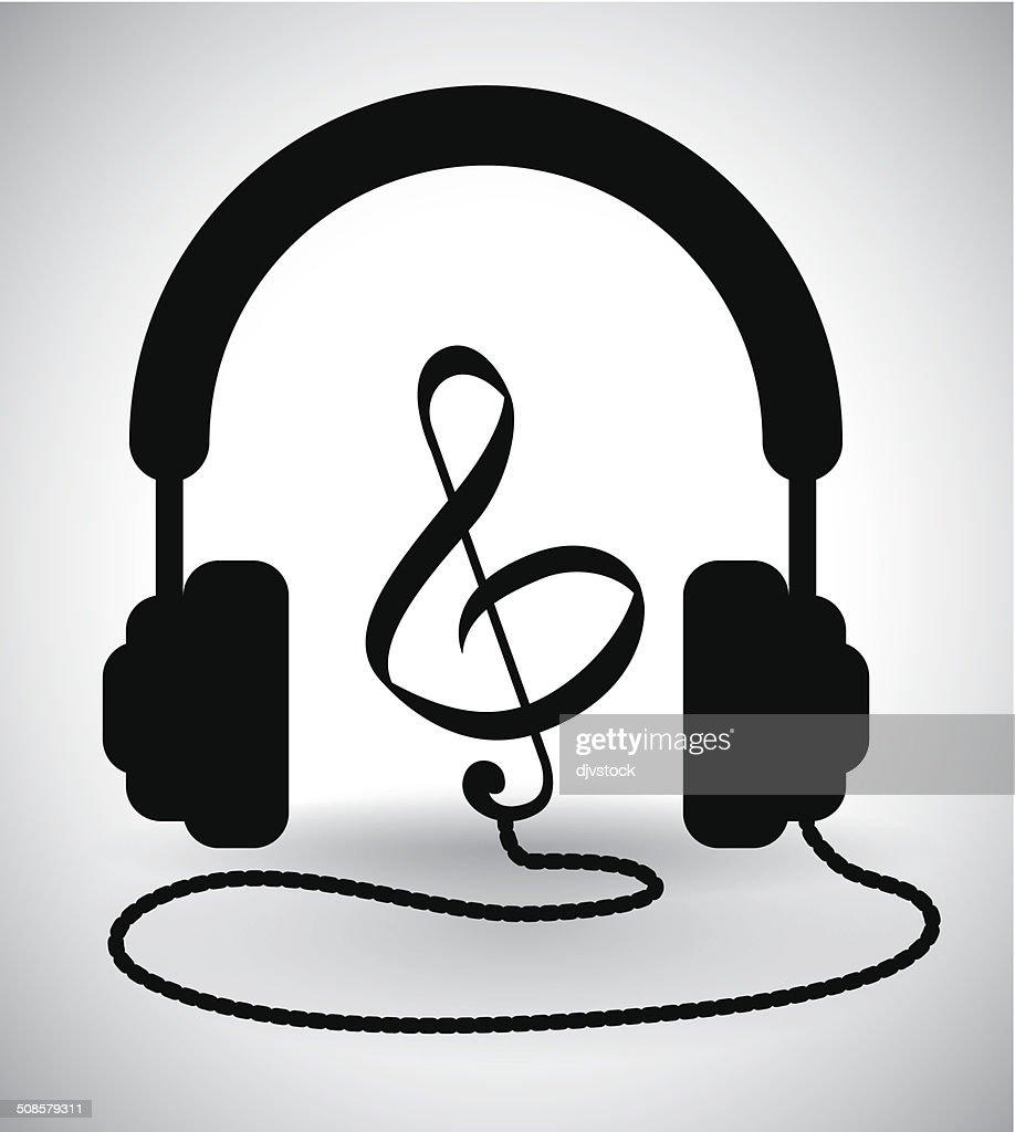音楽のデザイン : ベクトルアート