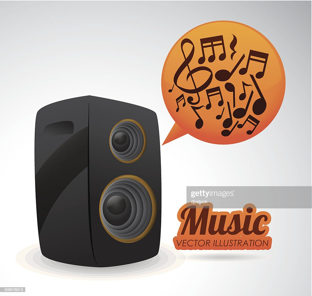 Music design : Vector Art