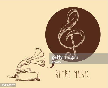 Music design : Vectorkunst