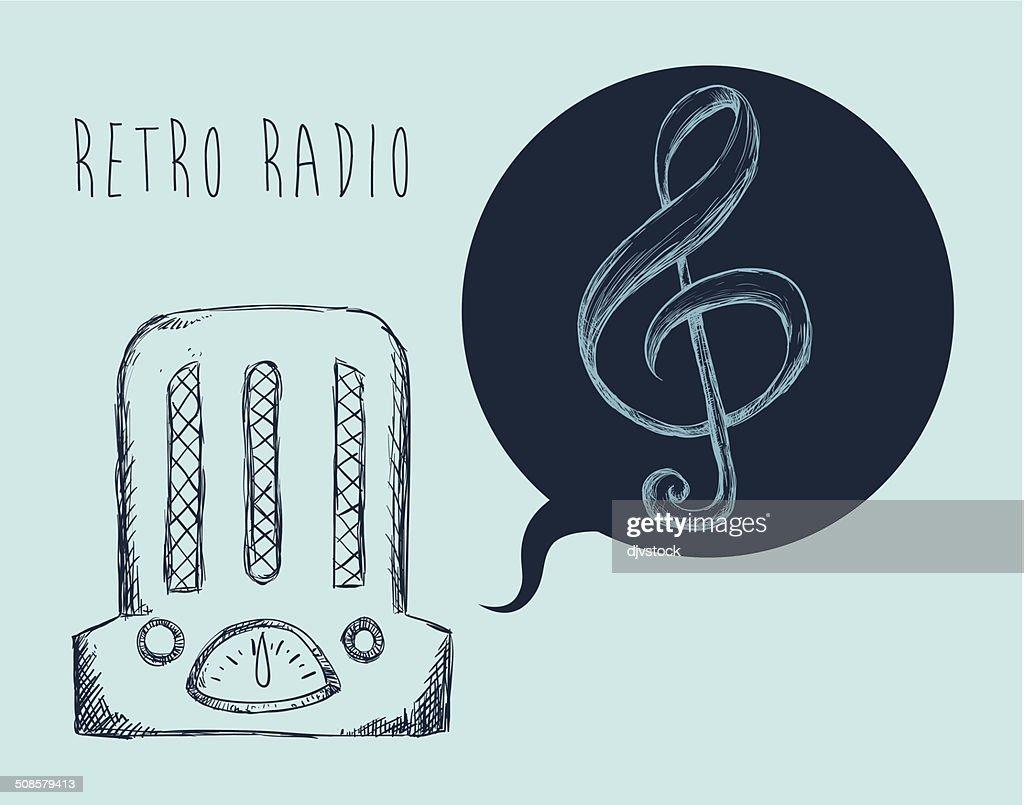 Musik-design : Vektorgrafik