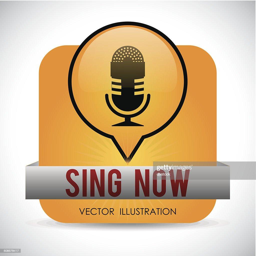 Music design : Vektorgrafik