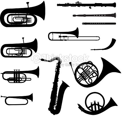 Marching Band Clipart Clarinet Musik Instrumen...