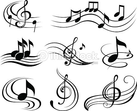 note de musique clipart vectoriel thinkstock. Black Bedroom Furniture Sets. Home Design Ideas