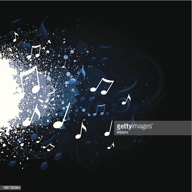 Music splatter