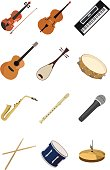 Icon of Musical instruments