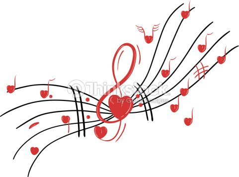 Musical notes stock vector thinkstock for Note musicali dwg