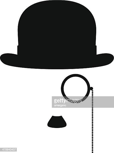 Bowler Hat Stock Illus...