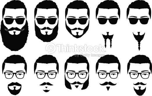 Pin Beard Clipart Hipster 14