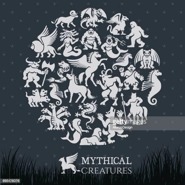 Mythische Collage