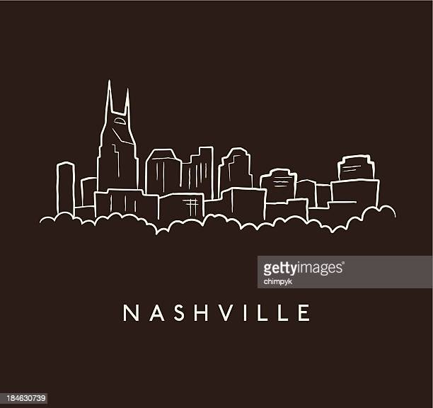 Country Music City Stock Photos Country Music City Stock: Nashville Stock Illustrations And Cartoons