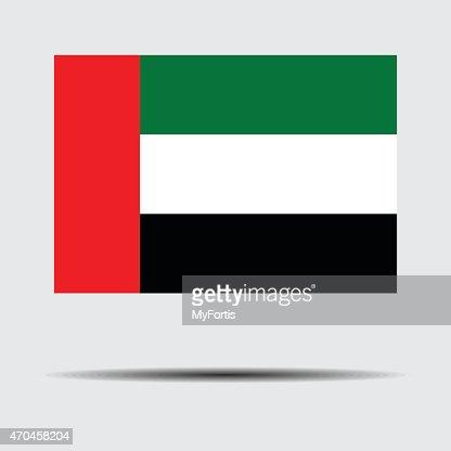Bandera nacional de Emiratos Árabes Unidos