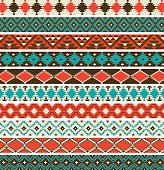 Native American border patterns