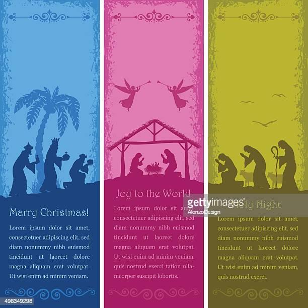 Nativity Scene Banners