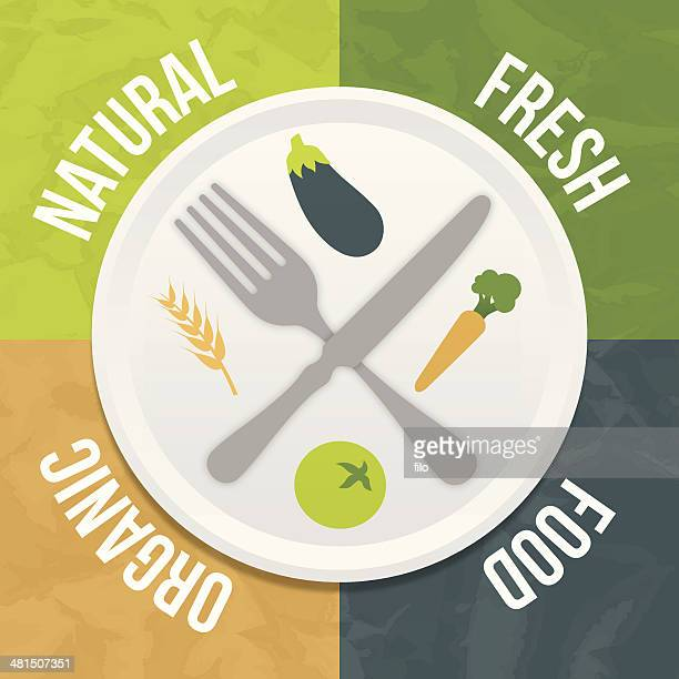 Natural Fresh Organic Food