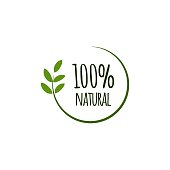 100% Natural Vector Template Design