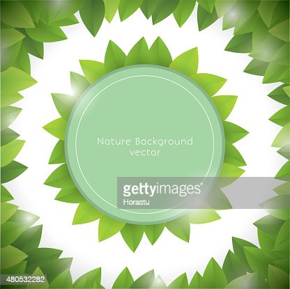 Nature background : Vector Art
