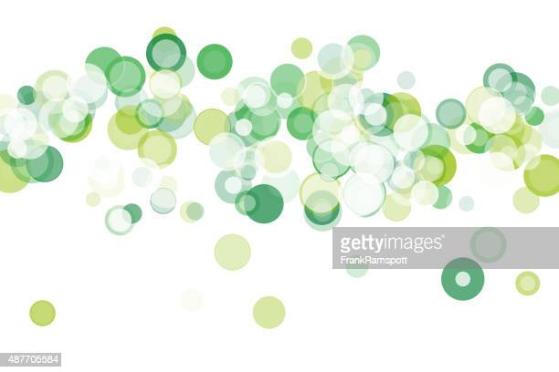 Nature Bokeh Circle Pattern Horizontal