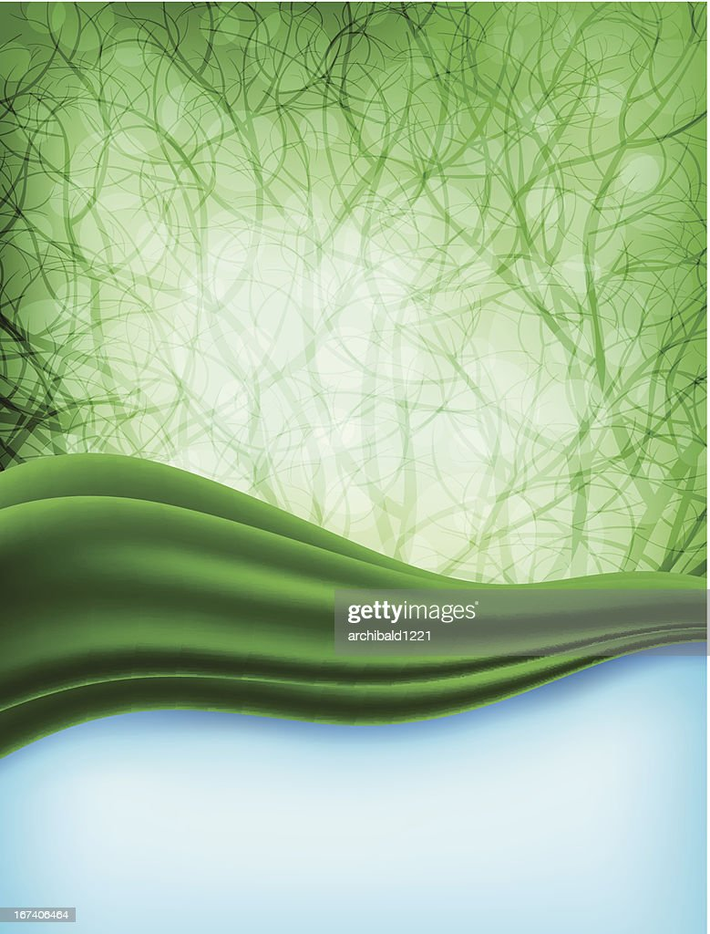 Nature theme background : Vector Art