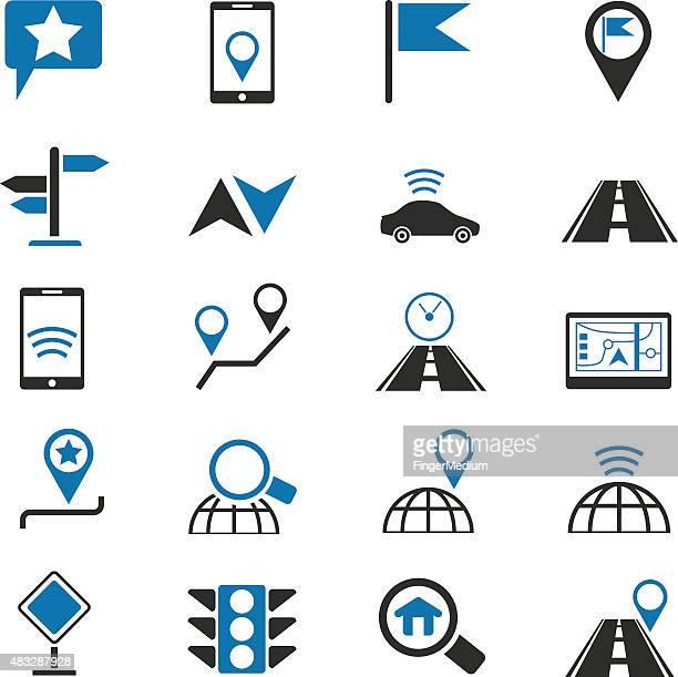 Navigation Symbole set